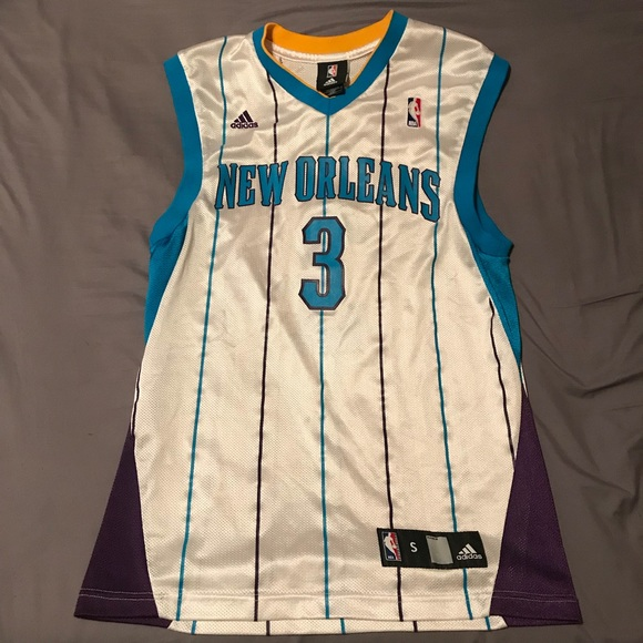 best service fe75a af0f7 Throwback Chris Paul New Orleans Hornets Jersey